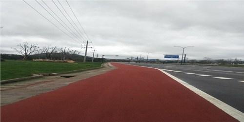黑龙江水性聚合物彩色防滑路面哪家好,路面