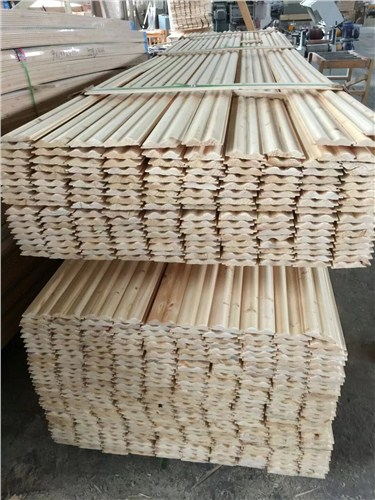 河南直销云杉护墙板厂家供应 上海熊二木结构工程供应