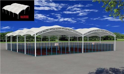 盐城设计停车棚厂家,停车棚