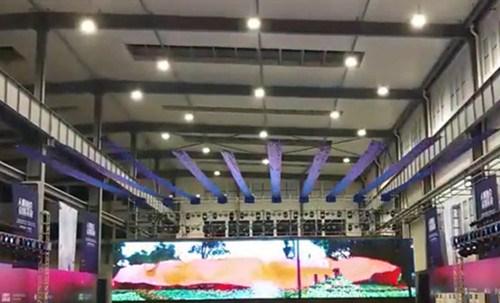 上海庆典飞布安装找哪家就找鑫琦供,是庆典飞布安装商,价格优惠服务好
