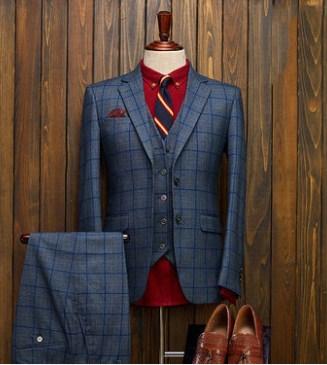 提供上海上海男士羊毛西装定做店铺排名昕新供