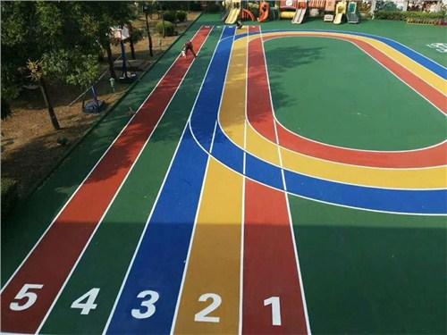 幼儿园塑胶地面图