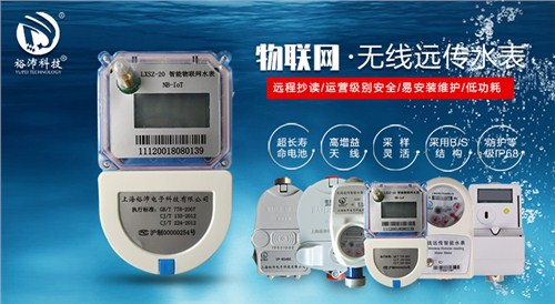 上海RS485自来水水表 上海裕沛电子科技供应