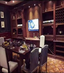 提供上海實木歐式酒柜定制價格 豫遠建材供