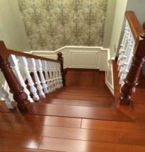 供應上海實木樓梯定制價格 豫遠建材供