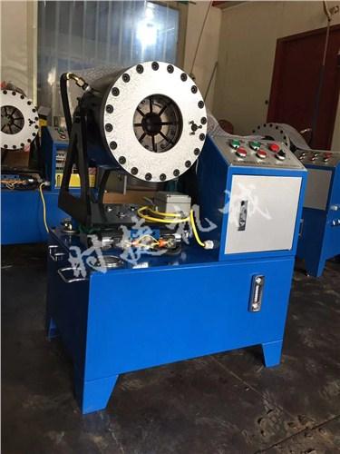 贵州大棚管建筑缩管机 工地压套管机器 时捷供应