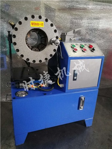 云南供应建筑缩管机 工地压套管机器 时捷供应