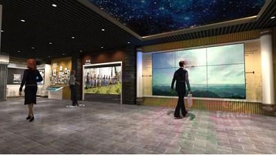 安徽多媒体展厅常用解决方案,多媒体展厅