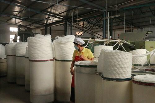 南京环锭纺涤纶纱,纱