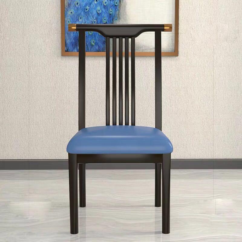 新中式橡木靠背椅简约现代饭店软包椅4.jpg