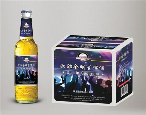 哈尔滨全明星啤酒价格 创新服务「青岛欧劲啤酒供应」