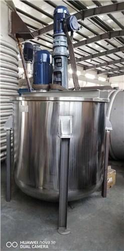 上海专用不锈钢乳化罐询问报价 诚信经营 上海威广机械制造供应