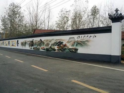 南阳专业墙体彩绘制作 南阳墙体广告制作中心