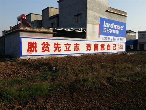 南阳党政宣传标语 南阳墙体广告制作中心