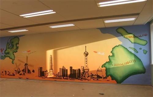 南阳墙体彩绘公司 南阳墙体广告制作中心