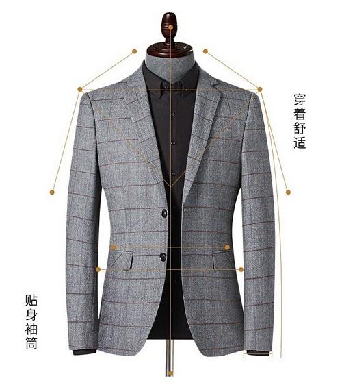 随州男士西服定制厂家地址 欢迎咨询 武汉恒捷美隆服饰供应