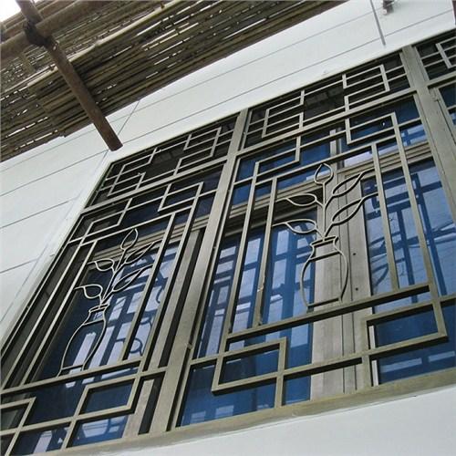 荆州新型铝艺焊接窗花定做,铝艺焊接窗花
