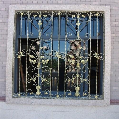 恩施市家装铝艺焊接窗花定做,铝艺焊接窗花