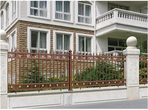 恩施新中式 铝艺护栏定制,铝艺护栏