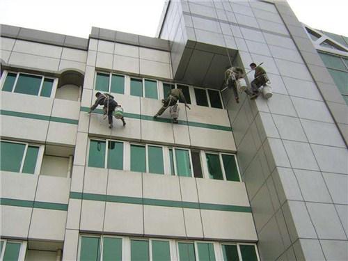 湖北供应高空外墙清洗服务公司 值得信赖 武汉宏通盛保洁服务供应
