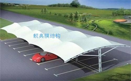 福州膜结构自行车棚公司,膜结构自行车棚