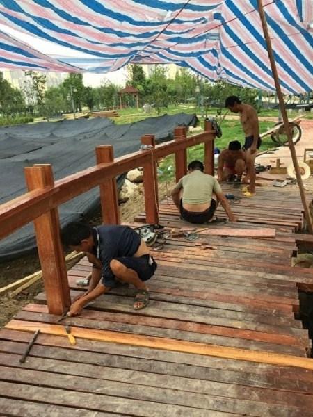 恩施专业防腐木护栏报价,防腐木护栏