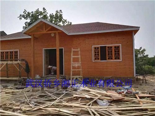 鄂州防腐木木屋别墅材料,防腐木木屋别墅