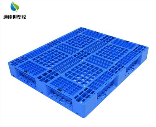 天门网格九脚塑料托盘供应商 欢迎咨询 武汉通佳世塑胶供应