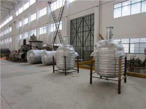 泰州蒸汽外盘管反应釜性价比高,外盘管反应釜