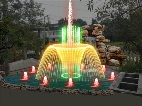 水池喷泉设备,喷泉