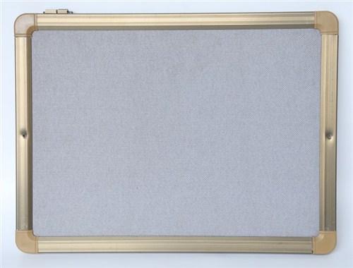 灰色软木板厂家直销 定制包布软木板 软木板公告栏 优雅供