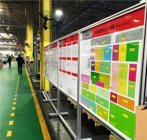 磁性计划看板定制厂家 磁性表格看板定制 无锡车间管理看板 优雅供