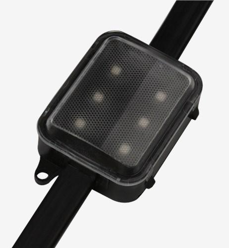 销售中山led6灯铝合金点光源产品厂家 信合光电供