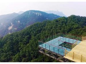 唐山玻璃观景台|唐山玻璃观景台安装|唐山玻璃观景台设计