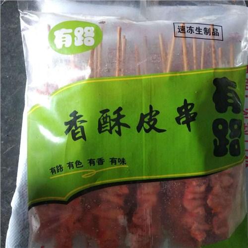 云南知名香酥鸡皮串厂家报价,香酥鸡皮串