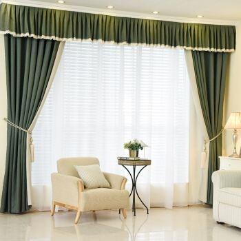松江区专业窗帘棉麻布诚信企业 服务至上「上海沁程布艺窗饰供应」