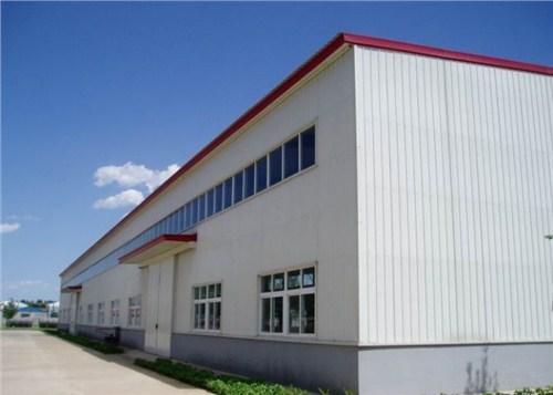 西峡钢结构厂房安装,厂房