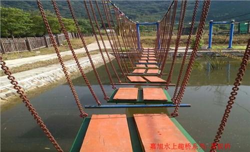 安庆水上趣桥施工费用,水上趣桥