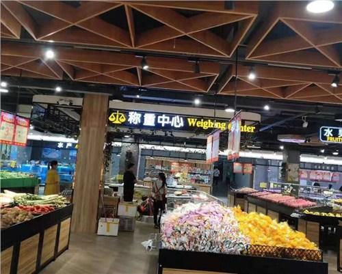 湖南生活连锁超市装修设计效果,连锁超市装修