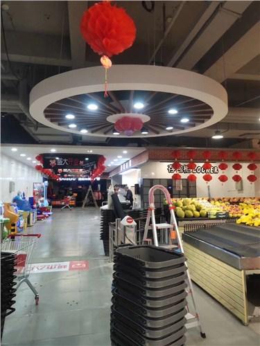 贵州果蔬连锁连锁超市装修设计图 有口皆碑「无锡亿都建筑装饰工程供应」