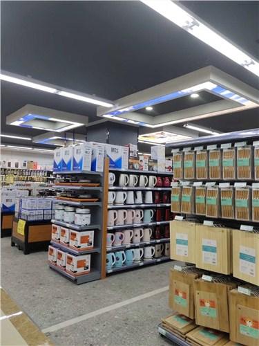 福建小型超市门面装修施工,超市门面装修