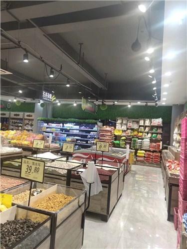 青海果蔬连锁连锁超市装修施工,连锁超市装修