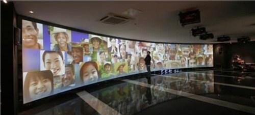 湖北展馆展厅投影 上海音维电子科技供应