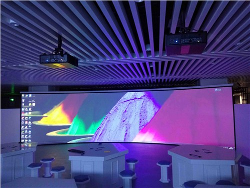 金山区激光投影展馆投影做得好 上海音维电子科技供应「上海音维电子科技供应」