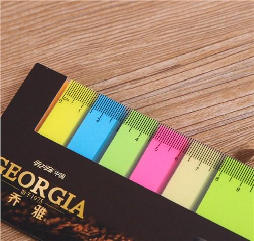温州荧光便利贴印刷   彩色便利贴定做  彩色便利贴生产  银亮供