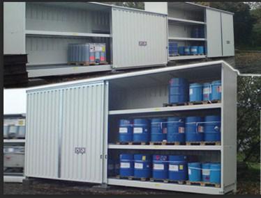 石家庄大学实验室废弃物室外暂存柜定制「无锡昱邦安保科技供应」