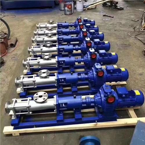 单螺杆泵上门服务 值得信赖「上海亦歆泵业制造供应」