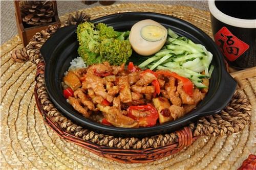 甘肃快餐煲仔饭菜厂家直供 客户至上 安徽粮农食品供应