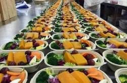 高新区医院团餐配送「河南乔喜餐饮管理供应」