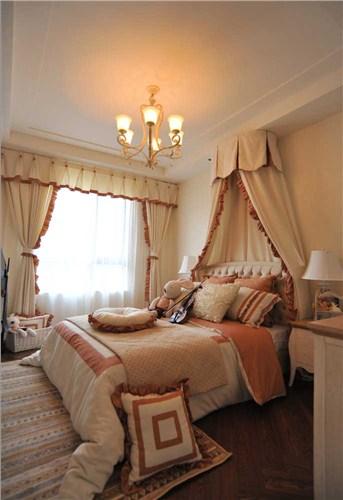 136㎡地中海风格卧室装修效果图